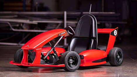 App-Connected Go-Karts - This Electric Go-Kart's Speed and Range Can Be Controlled Via An App