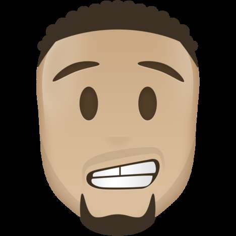 Celebratory Basketball Emojis - These Custom Sport Emojis Celebrate Toronto's NBA All-Star Weekend