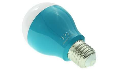 Smart Wireless Lightbulbs - The Q-home Light Source Can be Bluetooth Controlled to Change Colors