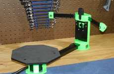 Open-Source 3D Scanners - The CowTech Ciclop Enables 3D Scanning in a Compact Design