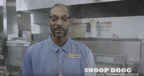 Rapper-Guided Training Videos - Burger King's Training Video for Grilled Dogs Stars Snoop Dog