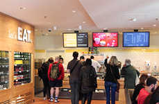 Real-Time Digital Menus - EAT's Digital Menu Boards Allow Greater Experimentation In-Store