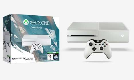 Enhanced Console Bundles - The Xbox One Special Edition Quantum Break Bundle Packs Great Value