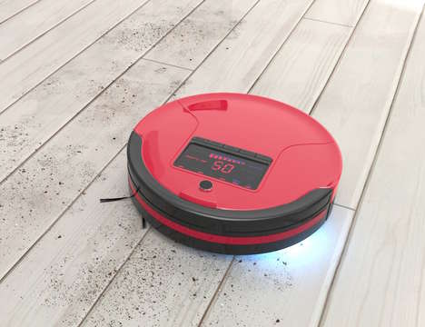 Robotic Wet-Dry Vacuums - The 'bObsweep' Robotic Vacuum Enables Floor Mopping and More
