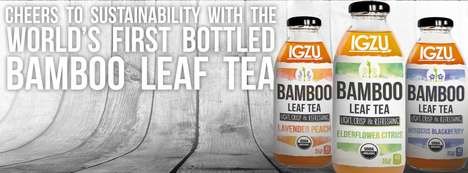 Bottled Bamboo Teas - This Company is Producing the World's First Bottled Bamboo Leaf Tea