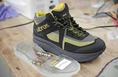 Kinetic Energy Harvesting Shoes