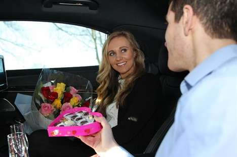 Romantic Taxi Rides - Addison Lee is Offering Valentine's Day Car Rides with Its 'CupidCab Service'