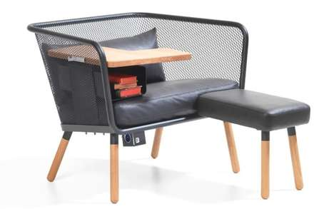 Relaxation Workstation Chairs - The Honken Workstation Chair Enables Comfortable Productivity