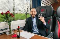 Speed Dating Trains - Virgin Trains Created a Romantic Train Ride for Singles on Valentine's Day