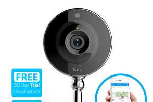 The iLuv mySight WiFi Video Camera Takes Clips When There's Motion