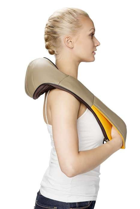 Scarf-Inspired Massagers - The Schultz 'ZycraPulse' Shoulder Massager Provides On-Demand Pain Relief