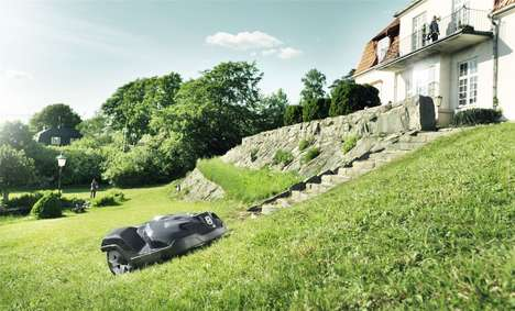 Connected Robotic Lawn Mowers - The Husqvarna Automower Makes Continuous Lawn Care Autonomous