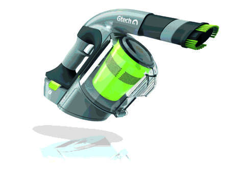 Space-Saving Vacuums - The GTech 'Multi' Handheld Vacuum Encourages Ditching the Upright Vacuum