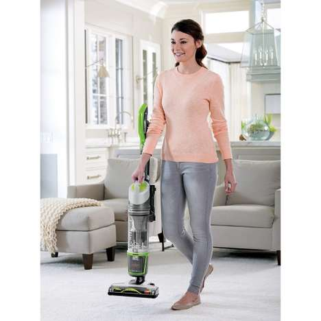 Washable Filter Vacuums - The BISSELL PowerGlide Cordless Portable Vacuum is Easily Maintained