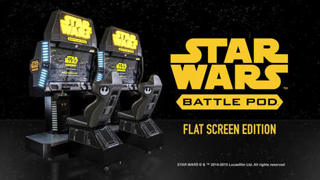 Intergalactic Multiplayer Games - This Star Wars Arcade Game Features a Fully-Immersive Cockpit