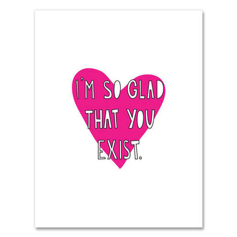 52 Valentine's Day Greeting Cards - From Viral Rapper Valentines to Sneaker-Themed Romance Cards