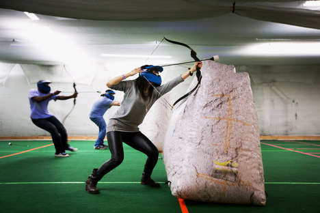 Immersive Archery Tag Experiences - Playmaker U's Archery Tag Games are Adventurous and Engaging