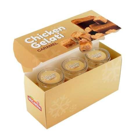 Chicken Gelato Desserts - This Chicken-Based Gelato Flavor Functions as an Aperitif