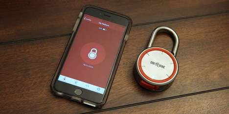 Keyless Bluetooth Locks - The Locksmart Offers a Wireless Way to Keep Personal Belongings Safe
