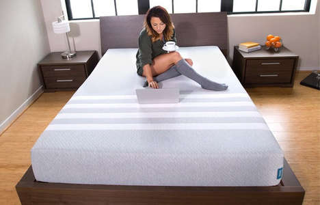 Versatile Sleeper Mattresses - The Leesa Foam Bed is Designed to Suit All Sleepers and Body Types