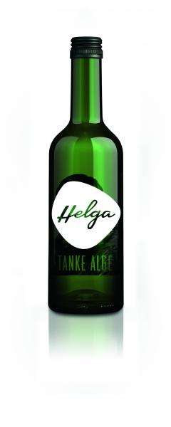 Carbonated Algae Drinks - 'Helga' is a Healthy Green Drink Made from Chlorella