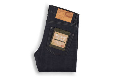 Organic Vegan Jeans - This Organic Denim by Naked & Famous are Branded as All-Around Wholesome