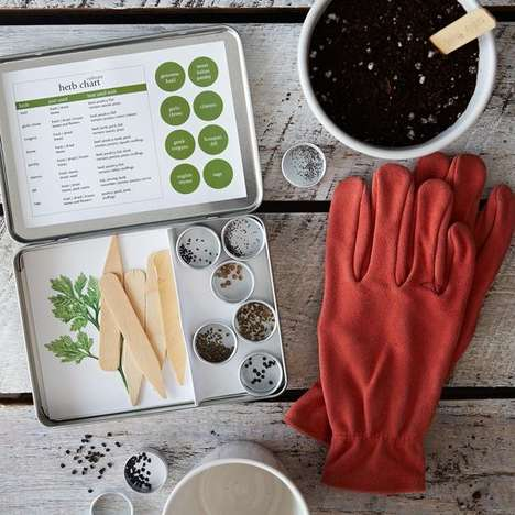 Culinary Herb Gardening Kits - The Culinary Herb Garden Maker Set Will Help Kickstart Your Garden