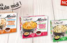 Multi-Piece Meal Kits - Marie's 'Ma Formule Midi' Contains a Starter, a Main Course and Dessert
