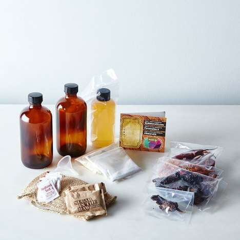 At-Home Hot Sauce Kits - This DIY Ghost Chilli Hot Sauce Kit is for Fans of Extreme Spice