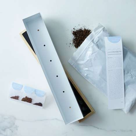 Windowsill Spice Garden Kits - This Microgreens Spice Window Box Kit Includes Daikon Radish