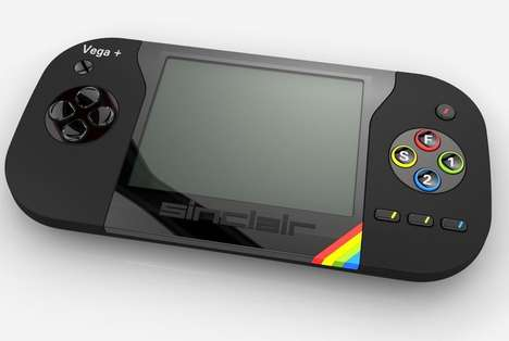 Handheld Video Game Consoles - The Sinclair ZX Spectrum Vega+ Handheld Video Game is Immersive