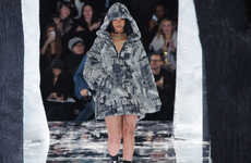 Gothic Songstress Sportswear - Rihanna's Fenty x Puma Collection Sparks Eerie Urban Style