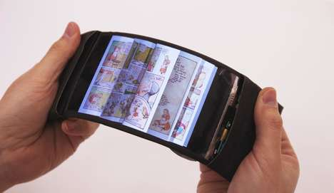 Reactive Bendable Smartphone - The 'ReFlex' Packs an OLED Display with Intuitive Features