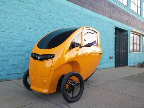 Velomobile-Sharing Services - The Veemo Bike Share Service Would Cost About $0.20 Per Minute