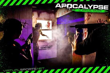 Zombie Laser Tag Games - This Event Combines Laser Tag and Zombie Hunting into One