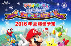 Six-Player Arcade Games - The CAPCOM Mario Party Game Brings a Nintendo Favorite to the Arcade