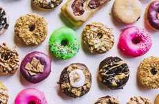 Artisanal Donut Cafes - Grumpy Donuts Offers Handcrafted Specialty Desserts
