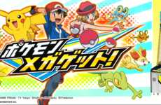 Creature-Capturing Games - The Pokémon Adventure Interactive Game Has Players Throwing Pokéballs