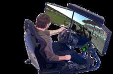 Intense Arcade Simulators - The New Eleetus Motion Simulator Game Would Enhance Arcade Capabilities