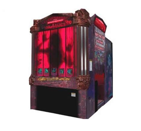 Horror-Themed Arcade Games - This 3D Arcade Game Immerses Players in a Creepy Fantasy Game