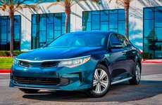 Optimal Hybrid Sedans - The New Kia Optima Hybrid Sedans Promise Top-Notch Road Performance