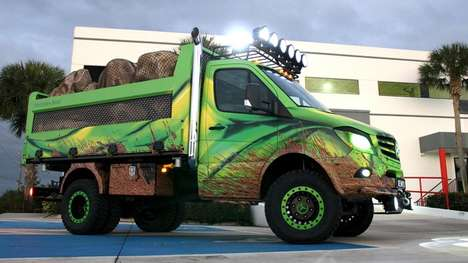 Extreme Labor Trucks - The Mercedes Sprinter Extreme is a Lean, Mean and Green Working Machine
