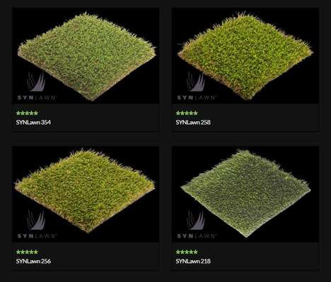 Virtual Grass Catalogs - SYNLawn's Website Spotlights The Brand's Synthetic Grass Range