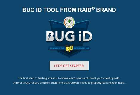Customized Bug Repellents - Raid's Bug ID Generator Helps Users Create a Personalized Treatment Plan