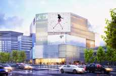 Glimmering Retail Shopping Centers - The Chongwenmen M-Cube Retail Complex will Open This Summer