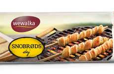 Grillable Breadsticks - This Wewalka Product is Designed for Preparing Dough on the Grill