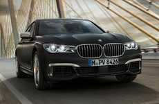 Zippy Luxury Sedans - The BMW M760Li xDrive Luxury Sedan Offers Racecar-Quality Specs