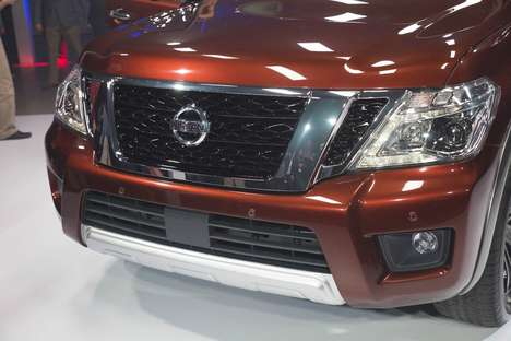 Family-Hauling SUVs - The New Nissan Armada Offers Refined Appearance and Top-Notch Performance