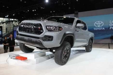 Extreme Off-Road Trucks - This Toyota Pickup Truck Eats Up Off-Road Environments