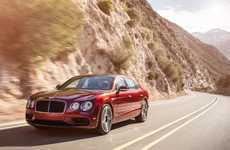 Sporty Luxury Cars - The Bentley Flying Spur V8 S Offers Excellent Performance and Fuel Economy
